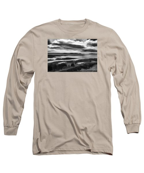 Long Sleeve T-Shirt featuring the photograph Cool Lakes Iceland by Rick Bragan