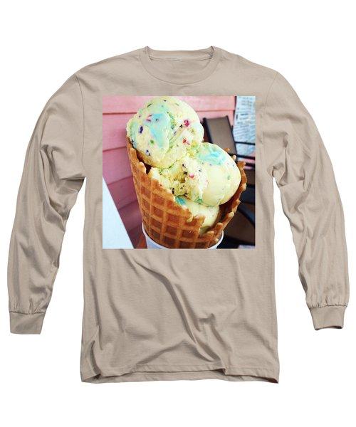 Cool Wave Long Sleeve T-Shirt