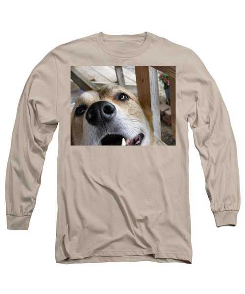 Coookiesss? Long Sleeve T-Shirt by Rory Sagner
