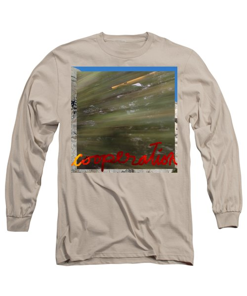 Cooperation Long Sleeve T-Shirt