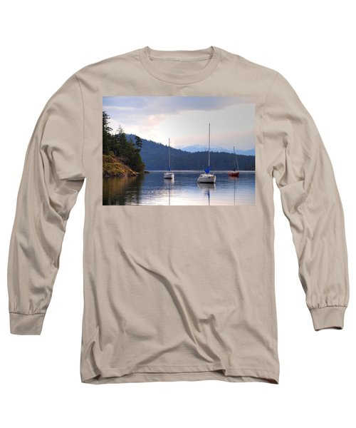 Cooper's Cove 1 Long Sleeve T-Shirt by Randy Hall