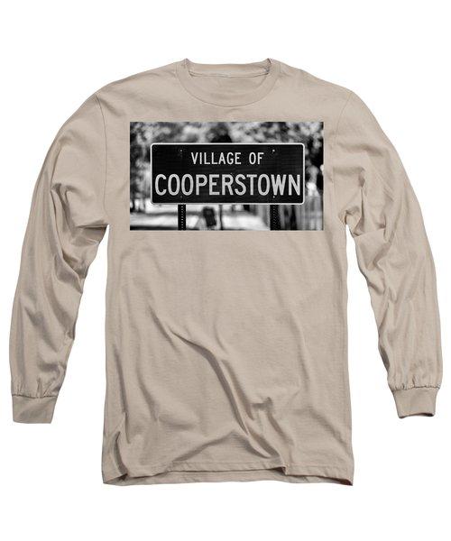 Cooperstown Long Sleeve T-Shirt