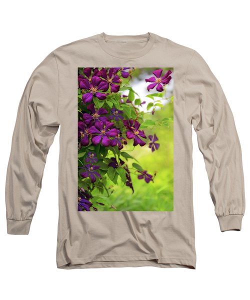 Copious Clematis Long Sleeve T-Shirt