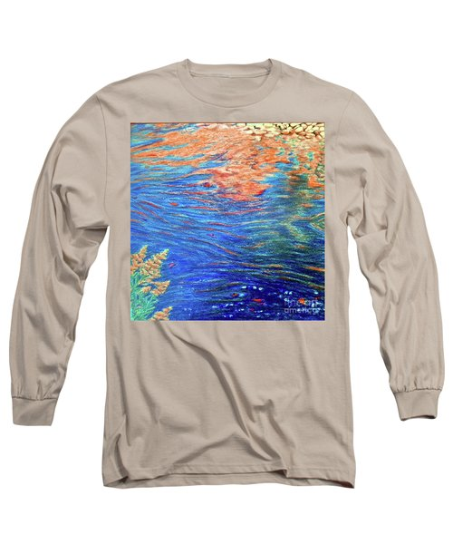 Copper Flow Long Sleeve T-Shirt