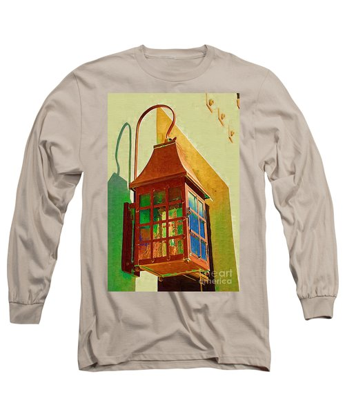 Copper Lantern Long Sleeve T-Shirt by Donna Bentley
