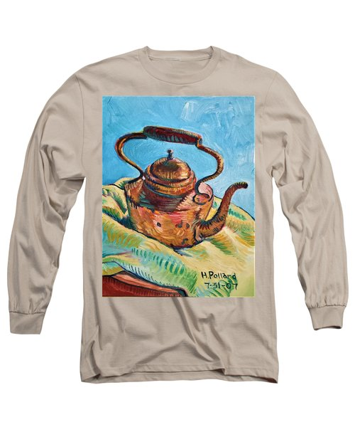 Copper Teapot Long Sleeve T-Shirt