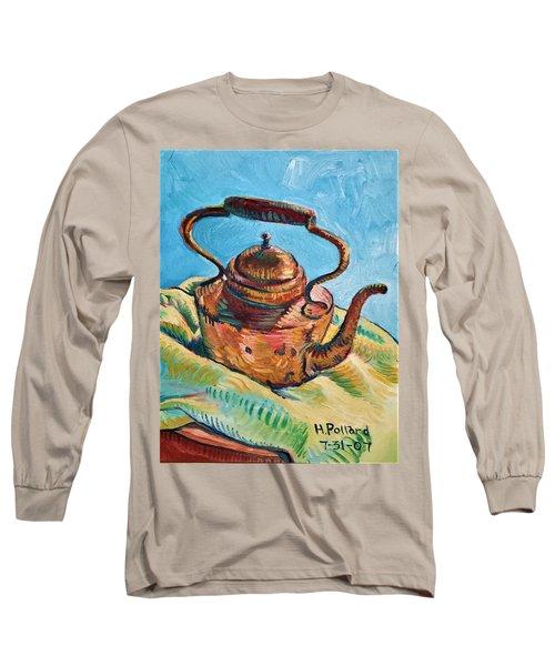 Copper Teapot Long Sleeve T-Shirt