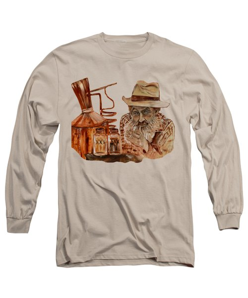 Coppershine Popcorn-transparent For T-shirts Long Sleeve T-Shirt by Jan Dappen