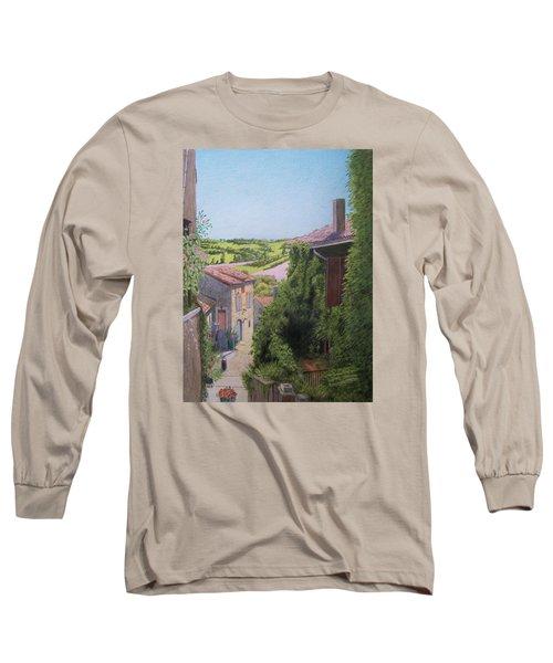 Cordes Sur Ciel Long Sleeve T-Shirt by Constance DRESCHER