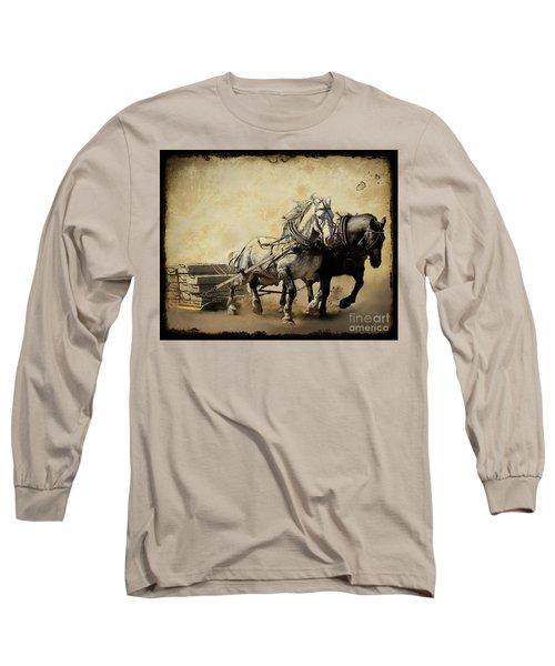 Core-two-duo Long Sleeve T-Shirt