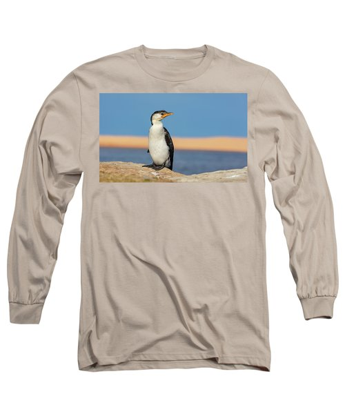 Long Sleeve T-Shirt featuring the photograph Cormorant by Chris Cousins