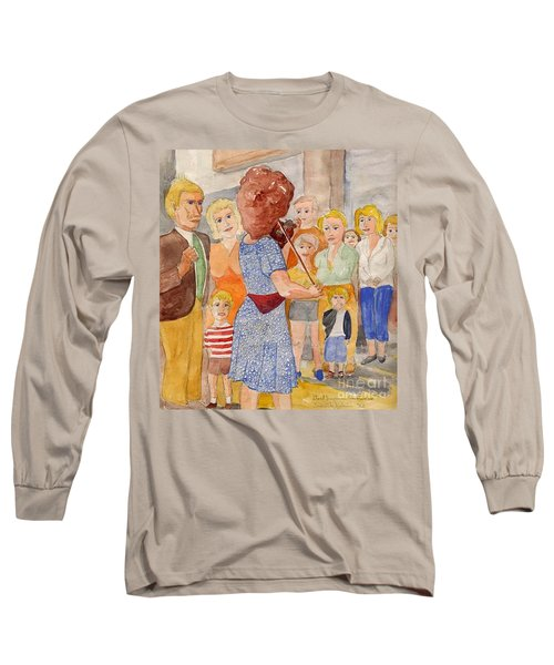 Corner Musician Amsterdam Long Sleeve T-Shirt