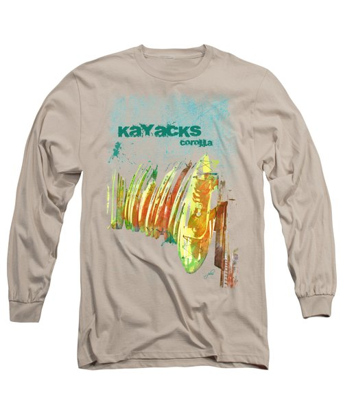 Corolla Kayacks Long Sleeve T-Shirt