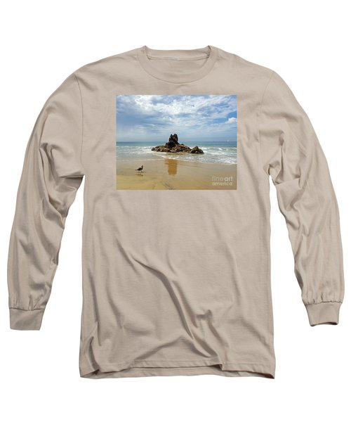 Corona Del Mar 2 Long Sleeve T-Shirt by Cheryl Del Toro