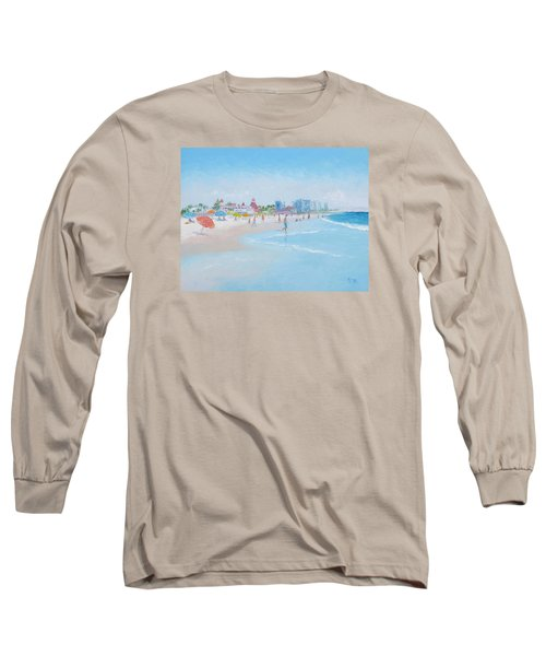 Coronado Beach San Diego Long Sleeve T-Shirt