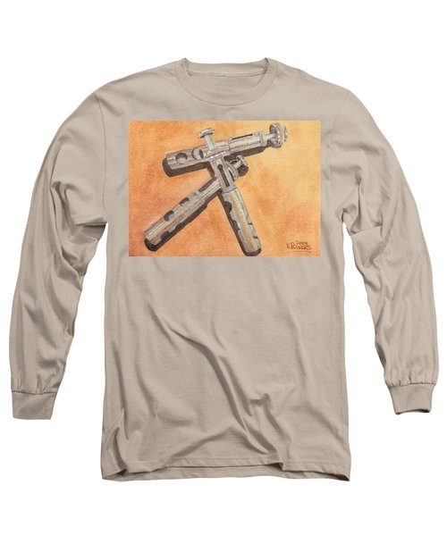 Corroded Trumpet Pistons Long Sleeve T-Shirt