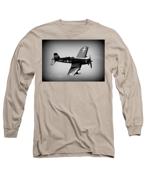 Corsair Flight Long Sleeve T-Shirt by Kevin Fortier