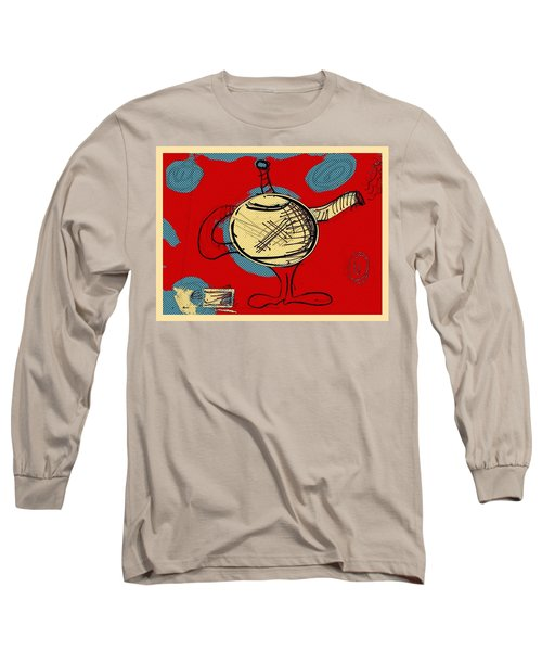 Cosmic Tea Time Long Sleeve T-Shirt