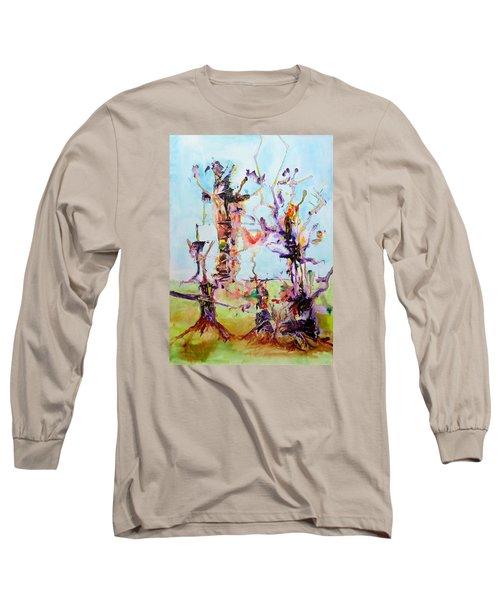 Cosmic Tree Family Long Sleeve T-Shirt