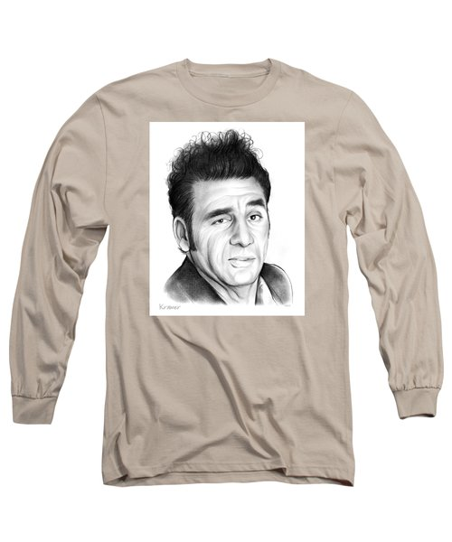 Cosmo Kramer Long Sleeve T-Shirt by Greg Joens