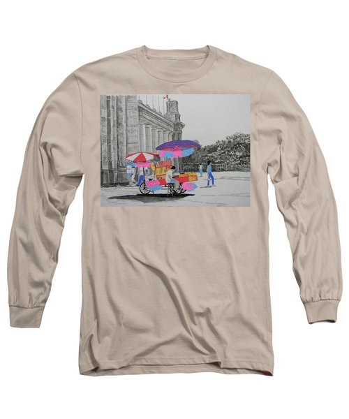 Cotton Candy At The Cne Long Sleeve T-Shirt
