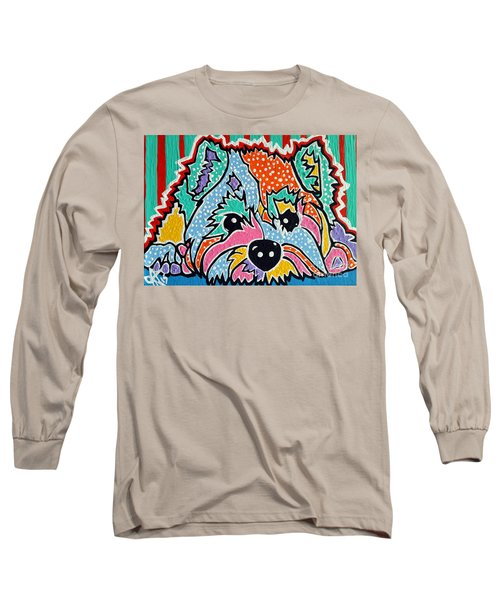 Cotton Candy Long Sleeve T-Shirt by Jackie Carpenter