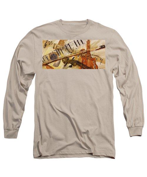 Cotton Pickin' Blues Long Sleeve T-Shirt