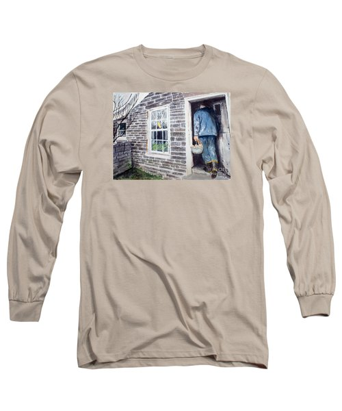 Country Breakfast Long Sleeve T-Shirt