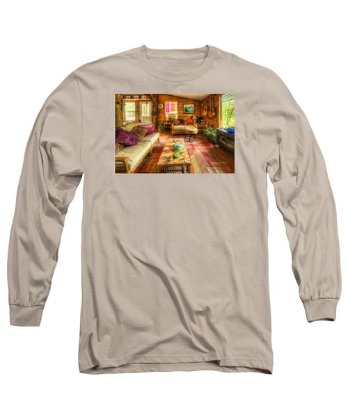 Country Cabin Long Sleeve T-Shirt
