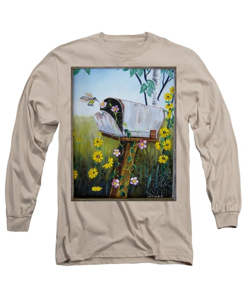Country Mailbox Long Sleeve T-Shirt