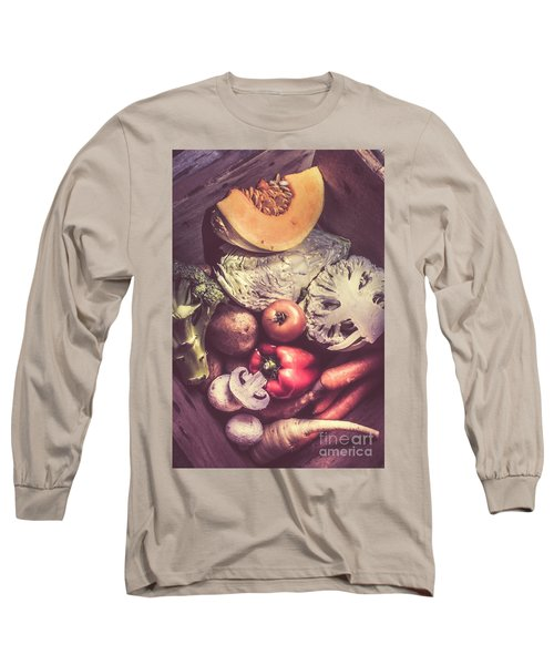 Country Style Foods Long Sleeve T-Shirt by Jorgo Photography - Wall Art Gallery