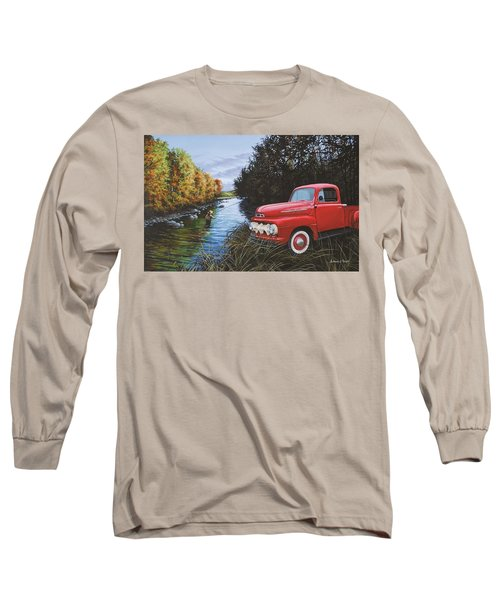 Couple Of Old Timers Long Sleeve T-Shirt