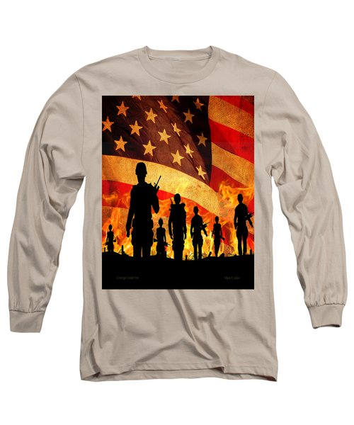 Courage Under Fire Long Sleeve T-Shirt