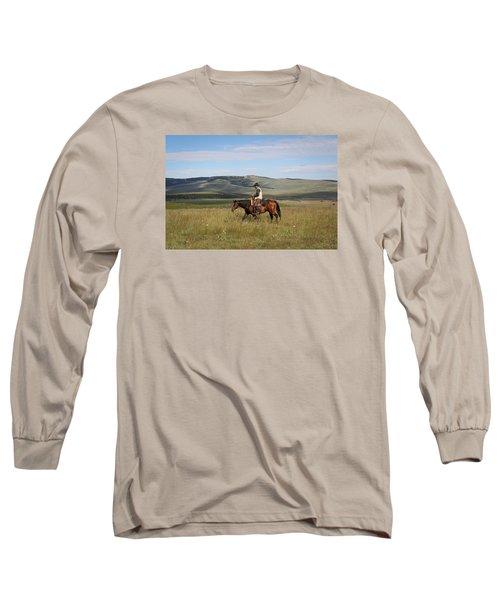 Cowboy Landscapes Long Sleeve T-Shirt