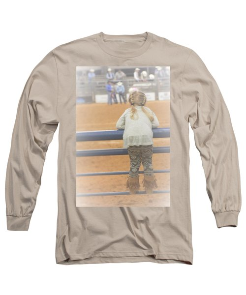 Long Sleeve T-Shirt featuring the photograph Cowgirl Hatchling by John Glass