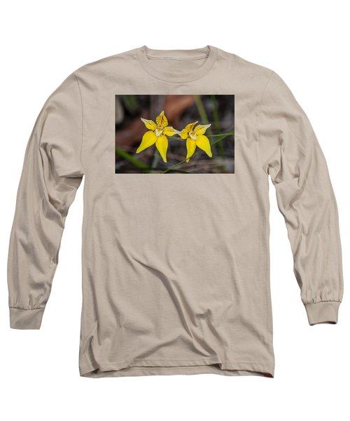Cowslip Orchid Australia Long Sleeve T-Shirt