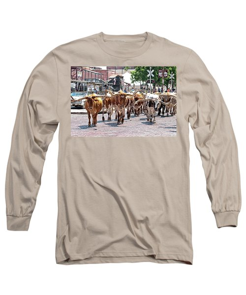 Cowtown Stockyards Long Sleeve T-Shirt