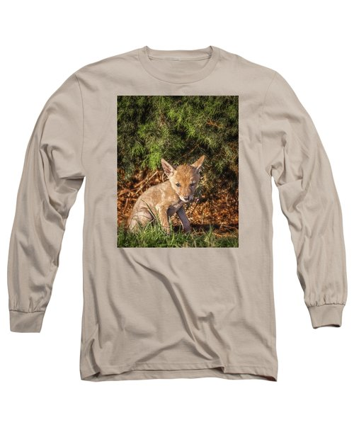 Coyote Pup Long Sleeve T-Shirt