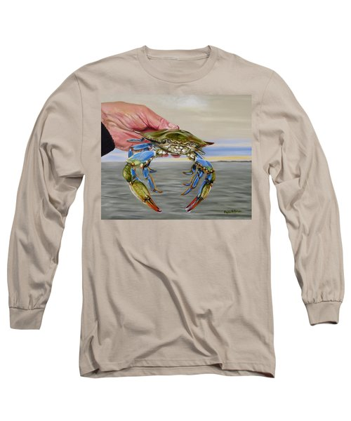 Crab Fingers Long Sleeve T-Shirt