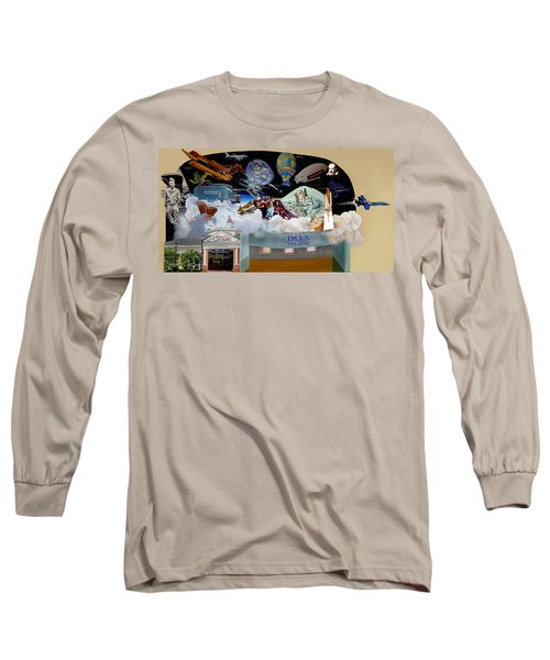 Cradle Of Aviation Museum Imax Theatre Long Sleeve T-Shirt