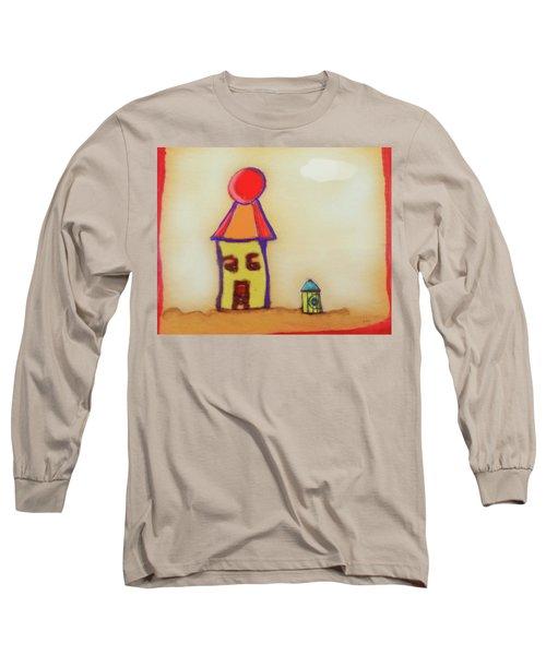Cranky Clown Cabana And Fire Hydrant Long Sleeve T-Shirt