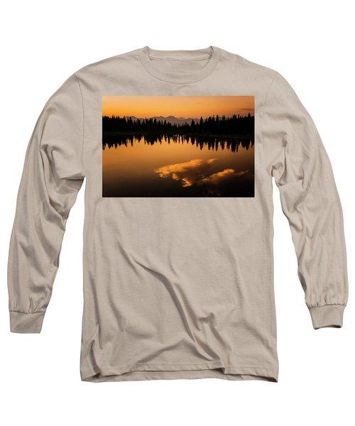 Crater Lake Sunset Long Sleeve T-Shirt