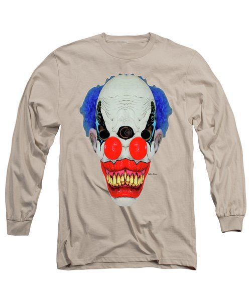 Creepy Clown Long Sleeve T-Shirt
