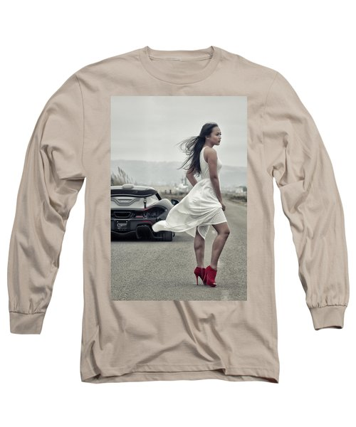 Long Sleeve T-Shirt featuring the photograph #cresta #p1 #print by ItzKirb Photography
