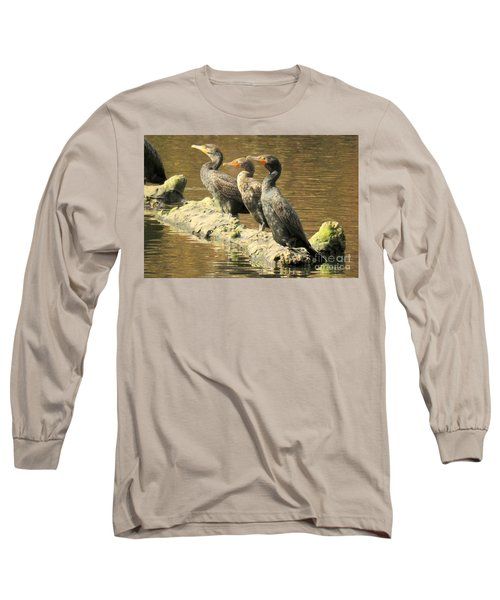Crested Trio Long Sleeve T-Shirt