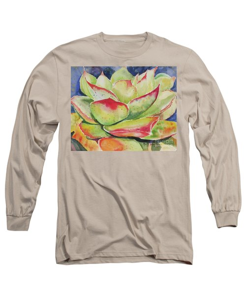 Crimison Queen Long Sleeve T-Shirt by Mary Haley-Rocks