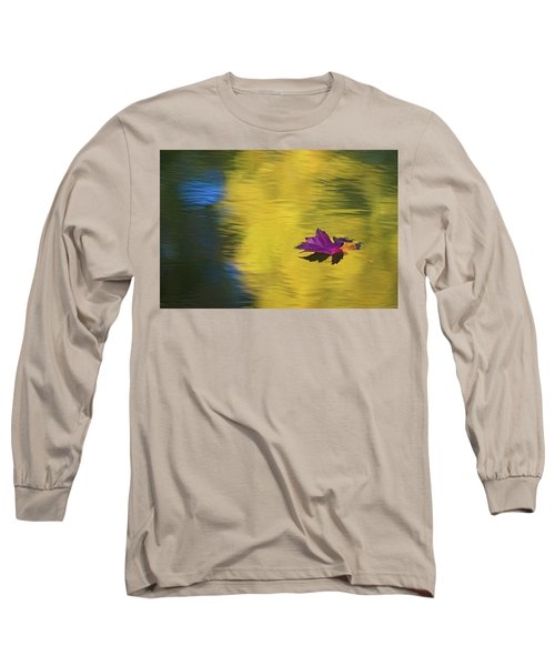 Long Sleeve T-Shirt featuring the photograph Crimson And Gold by Steve Stuller
