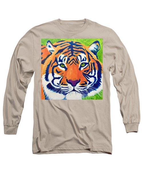 Critically Endangered Sumatran Tiger Long Sleeve T-Shirt