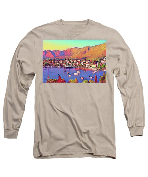 Croatia Coastal Living Long Sleeve T-Shirt