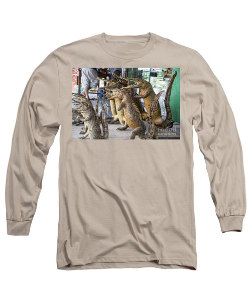 Crocodiles Rock  Long Sleeve T-Shirt
